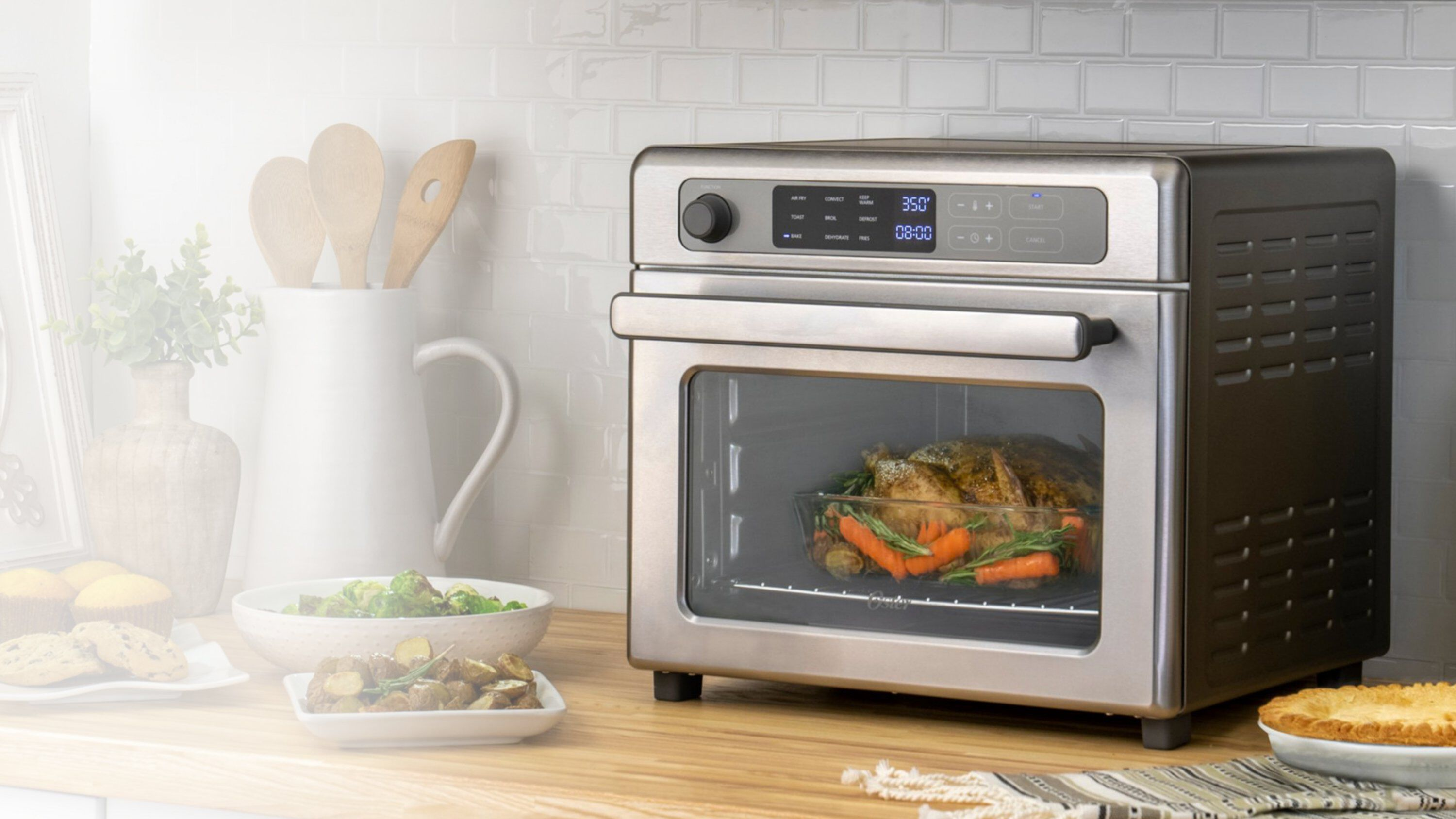 rapid crisp air fryer oven
